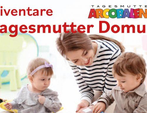 CORSO di FORMAZIONE TAGESMUTTER Domus®  in PARTENZA ad OTTOBRE 2020 –