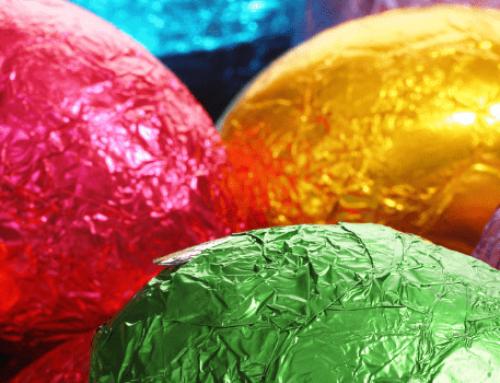 E dopo la Pasqua, cioccolato e imballaggi? Usiamoli!!